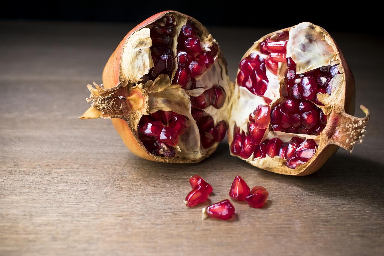 Granada fruta otoño
